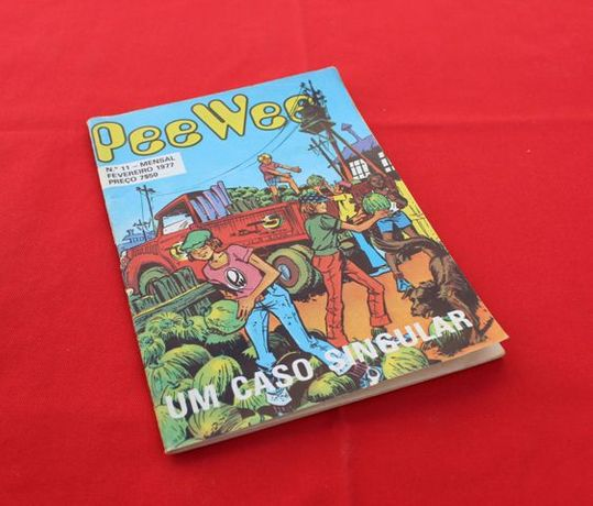Banda Desenhada Pee Wee nº 11 - 1977