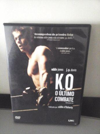 DVD K. O. - O Último Combate c/ Eddie Jones - ENTREGA IMEDIATA