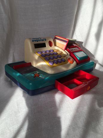 Кассовый аппарат для детей. Игрушечная касса. Интерактивная игрушка