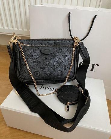 Сумка женская сумочка сумка 3в1 сумка Louis Vuitton клатч