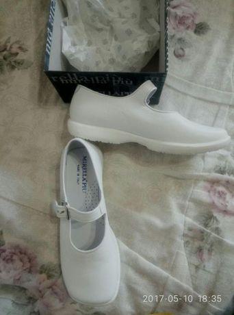 Новые кожаные итальянские туфли Mirella 33р-р, 21см стелька