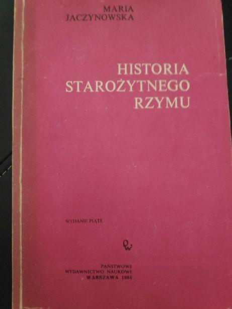 Maria Jaczynowska Historia Starożytnego Rzymu