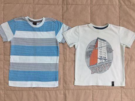 Koszulki, t-shirts, 2szt., Calvin Klein, DKNY, 104/110, 4 lata
