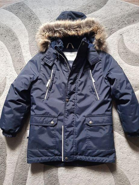 Куртка, парка зимняя lenne. 122 рост.