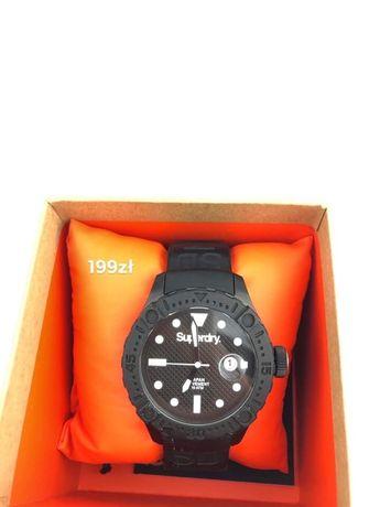 Zegarek czarny Superdry