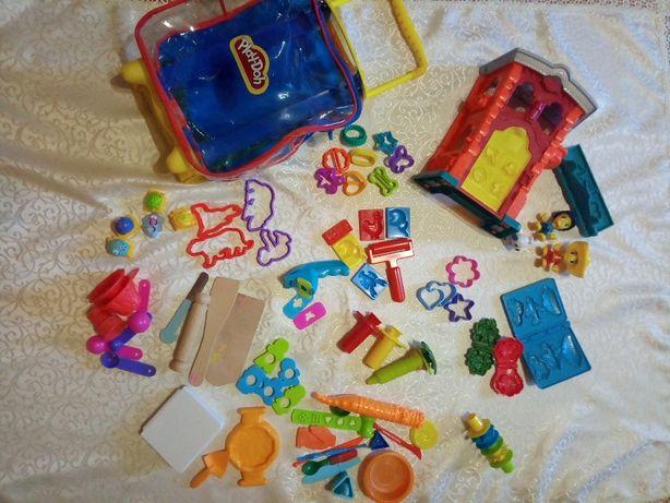 Набор Play-Doh, Плей до в чемодане + пожарная станция