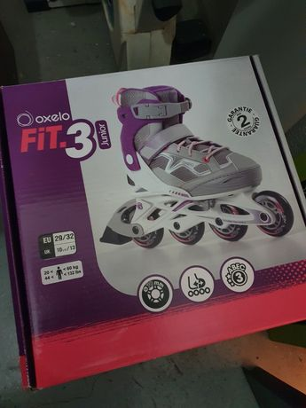 Patins linha Oxelo Fit 3 29 ao 32