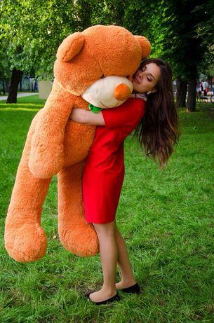 Огромный плюшевый мишка 160 см , двухметровый на подарок девушке