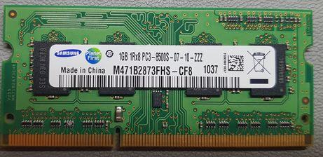 Pamięć RAM DDR3 SAMSUNG 1GB 1Rx8 PC3-8500S-07-10-ZZZ