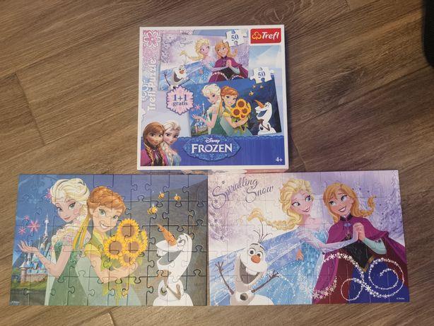 Puzzle Disney Frozen 2 x 50 el.