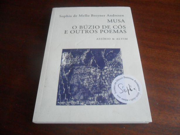 """""""Musa - O Búzio de Cós e Outros Poemas"""" de de Sophia de Mello Breyner"""