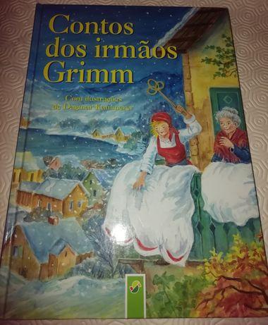 Livro conto dos irmãos Grimm