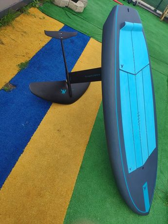 "Deska Wing SUP Surf Foil Airush Phazer 6'0"" - prawie nowy zestaw"