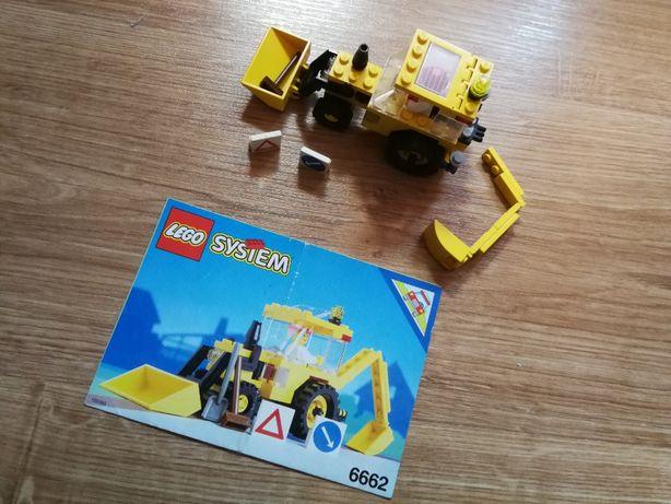 Klocki LEGO 6662 Wielofunkcyjna koparko-ładowarka rok 1992