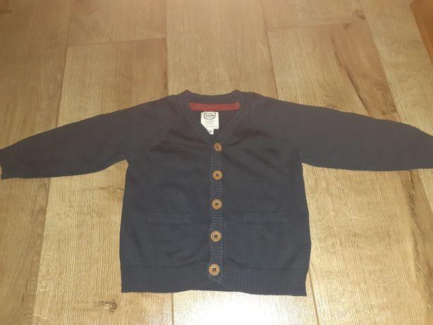 Granatowy sweter Cool Club rozmiar 74