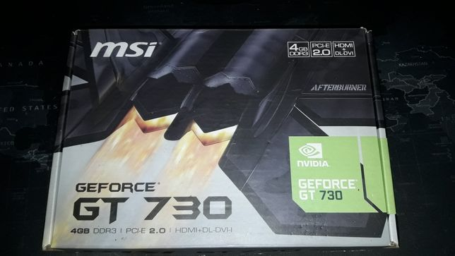 Видеокарта MSI GeForce GT 730 4GB DDR3