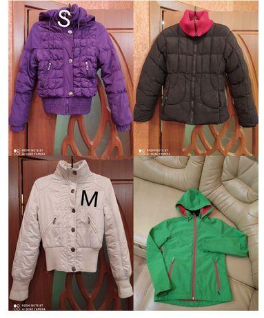 Пальто куртка 100-200грн.