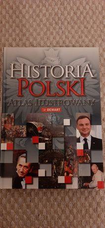 Nowa książka Historia Polski wyd Demart twarda oprawa prezenr