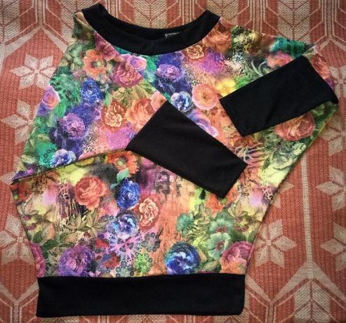 Красивый свитер, туника женская