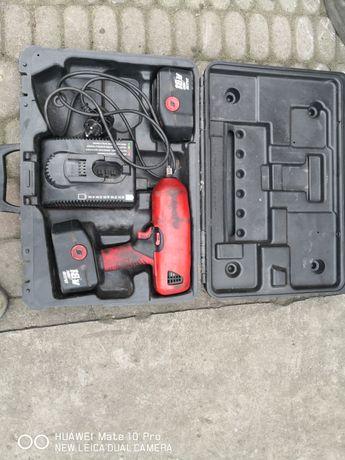 Klucz udarowy snap on CT 6850 dwie baterie ładowarka komplet walizka