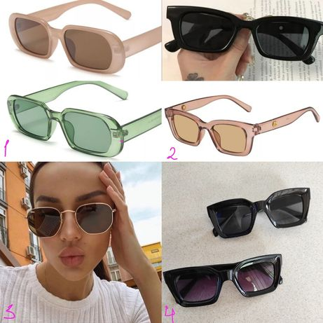 Очки окуляры солнцезащитные женские uv400 мужские овальные жіночі