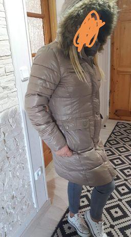 Zara płaszcz pikowany damski xl