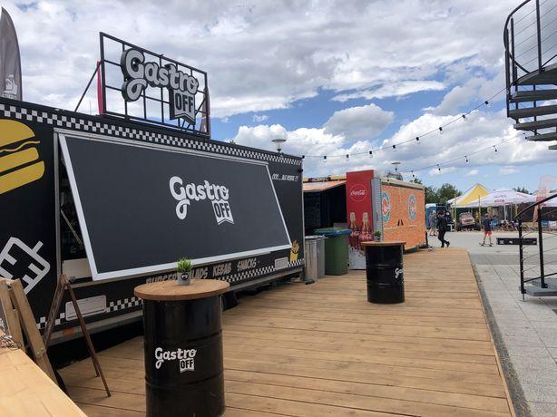 Przyczepa Gastronomiczna 6m BCC Food Truck Zamiana
