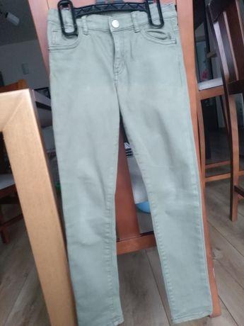 Spodnie dziewczęce, h&m, roz. 122-128