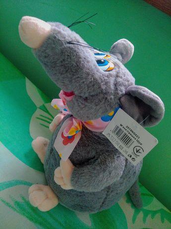 Новая Мягкая плюшевая игрушка, наполнение холофайбер, высота 27 см