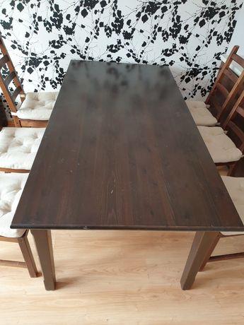 Stół i 6 krzeseł komplet