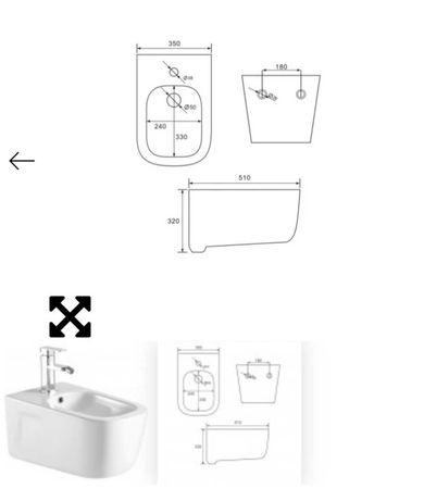 Bidet łazienkowy MEXEN MARGO