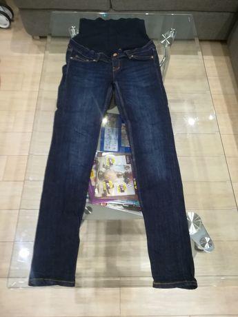Jeansy ciążowe H&M skinny