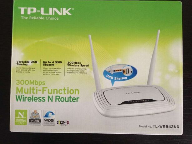 Wireless Router TP Link 300Mbps Multi-Funtion
