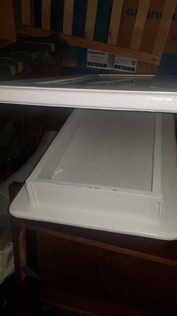 stolik skrzynia stół ława drewniana biała