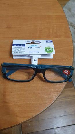 Продам очки для зрения +2