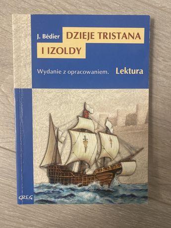 Dzieje Tristana i Izoldy ksiazka -laktura