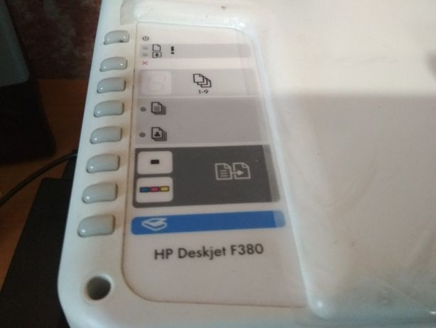 Принтер HP Deskjet F380 на запчасти