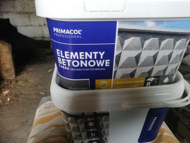 Farba do elementów z betonu