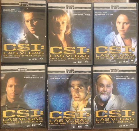 DVD's  CSI : Las Vegas 1ª Série