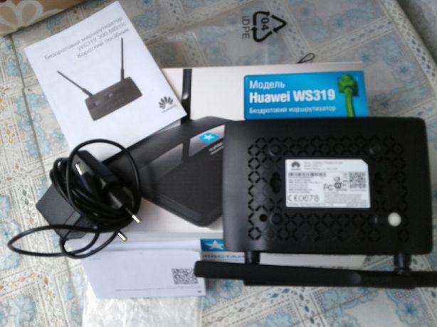 Беспроводной маршрутизатор модель Huawei WS319,Wi-Fi роутер +