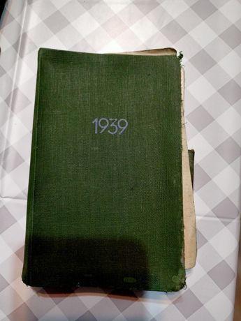 Kalendarzyk niemiecki 1939