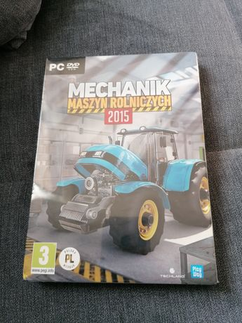 Nowa! Mechanik maszyn rolniczych 2015. PC