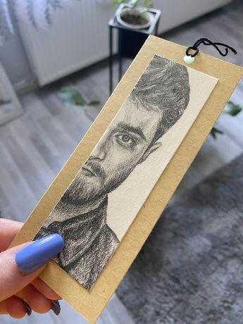 Zakładka Daniel Radcliffe harry potter gprince