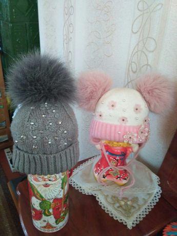 Костюм, шапка зимняя, шапочка