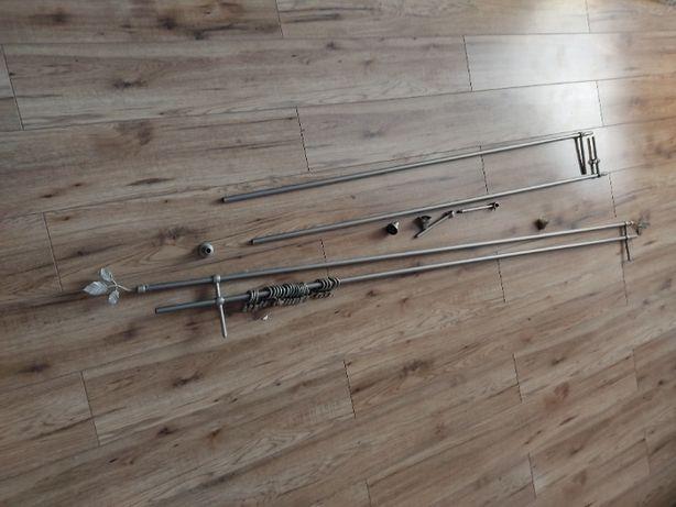Karnisz 200 cm podwójny, 160 cm podwójny (pojedynczy)