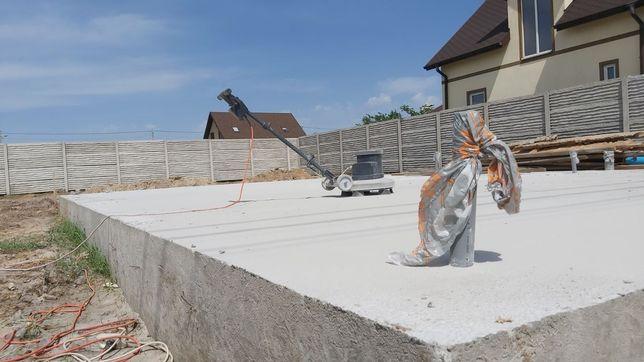 Фундамент , отмостка , площадка , забор )