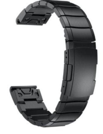 Nowa czarna bransoleta do Garmin fenix 5s ,5s Plus,6s