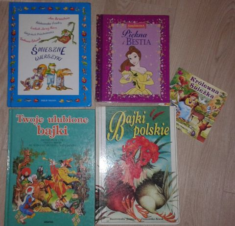 Bajki dla dzieci zestaw wierszyki książka bajka do czytania