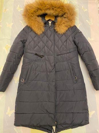 Пальто зимнее, с искусственным наполнителем