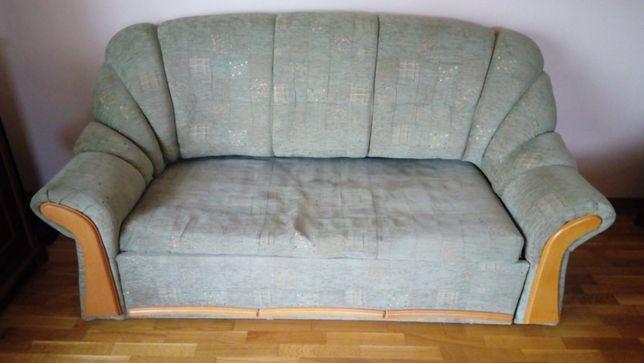 kanapa rozkładana i fotel